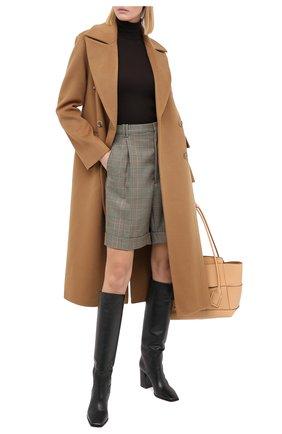 Женская кашемировый свитер DOLCE & GABBANA коричневого цвета, арт. FX865T/JAW2S | Фото 2
