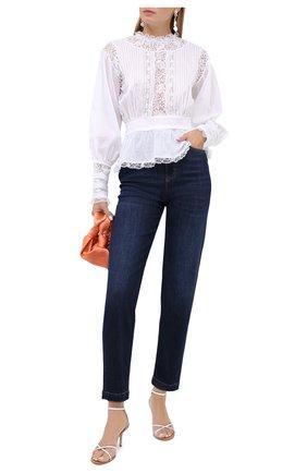 Женские джинсы DOLCE & GABBANA темно-синего цвета, арт. FTBXGD/G8CR6 | Фото 2