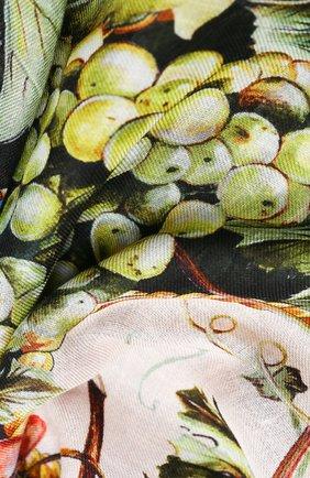 Женская шаль из шерсти и кашемира DOLCE & GABBANA разноцветного цвета, арт. FS184A/GDW06 | Фото 2