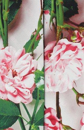 Мужские шелковый шарф BURBERRY розового цвета, арт. 8032258 | Фото 2