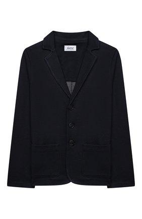 Детский пиджак ALETTA темно-синего цвета, арт. AM000593/4A-8A | Фото 1