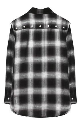 Детское рубашка DIESEL черного цвета, арт. 00J50V-KXB24 | Фото 2