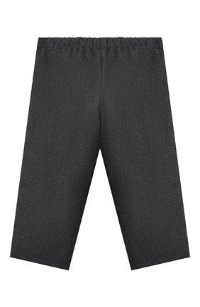 Детские шерстяные брюки GUCCI серого цвета, арт. 629510/ZWALN | Фото 2