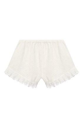 Детские хлопковые шорты ZIMMERMANN белого цвета, арт. 5545ABTD | Фото 2
