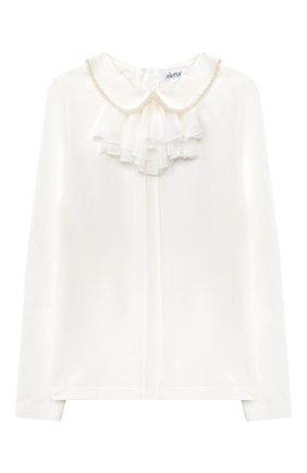 Детское блузка ALETTA бежевого цвета, арт. AJ000468ML/9A-16A | Фото 1