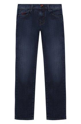 Детские джинсы JACOB COHEN синего цвета, арт. D1011 J-03010-W2   Фото 1