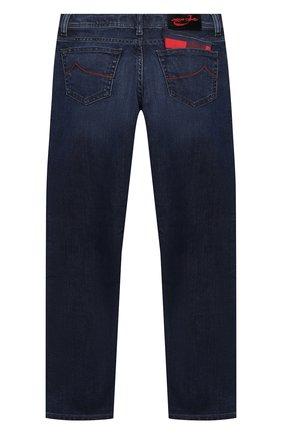 Детские джинсы JACOB COHEN синего цвета, арт. D1011 J-03010-W2   Фото 2