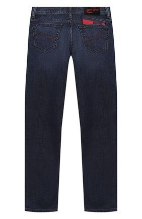 Детские джинсы JACOB COHEN синего цвета, арт. D1011 T-03010-W2   Фото 2