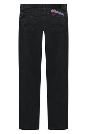 Детские джинсы JACOB COHEN черного цвета, арт. D1011 T-10013   Фото 2