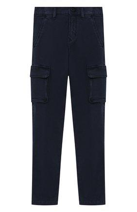 Детские брюки-карго JACOB COHEN синего цвета, арт. P1314 J-10013 | Фото 1