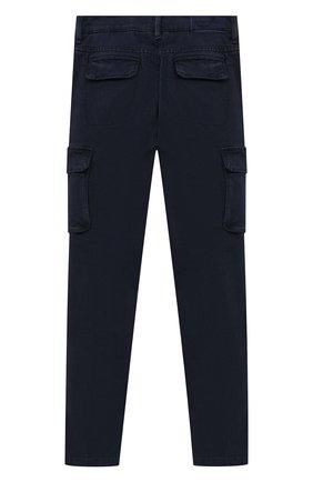 Детские брюки-карго JACOB COHEN синего цвета, арт. P1314 J-10013 | Фото 2