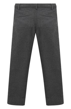 Детского брюки ALETTA серого цвета, арт. AF000541R/4A-8A | Фото 2