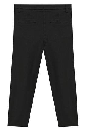Детского брюки ALETTA черного цвета, арт. AF000541R/4A-8A | Фото 2
