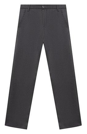 Детские брюки ALETTA темно-серого цвета, арт. AM000594N/9A-16A | Фото 1