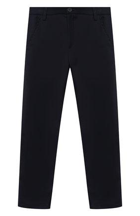 Детские брюки ALETTA синего цвета, арт. AM000594N/9A-16A | Фото 1