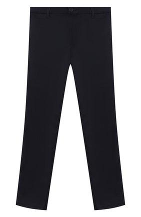 Детские брюки ALETTA синего цвета, арт. AM000595N/9A-16A | Фото 1