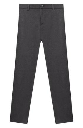 Детские брюки ALETTA темно-серого цвета, арт. AM000595N/4A-8A | Фото 1
