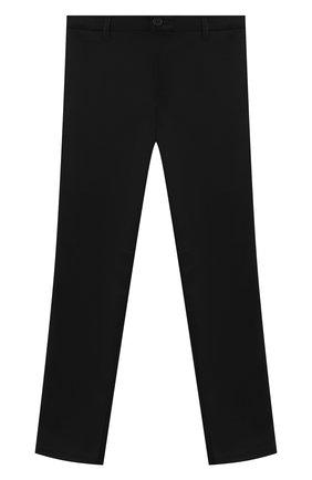 Детские брюки ALETTA черного цвета, арт. AM000595N/4A-8A | Фото 1