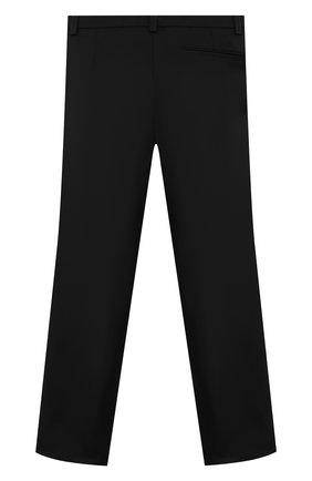 Детские брюки ALETTA черного цвета, арт. AM000595N/4A-8A | Фото 2