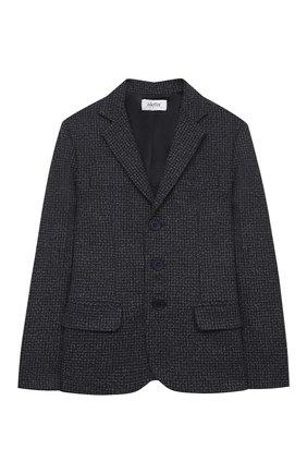 Детский пиджак ALETTA серого цвета, арт. AM000599/9A-16A | Фото 1