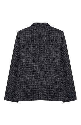 Детский пиджак ALETTA серого цвета, арт. AM000599/4A-8A | Фото 2