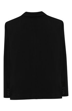 Детский пиджак ALETTA черного цвета, арт. AMC000637N/9A-16A | Фото 2