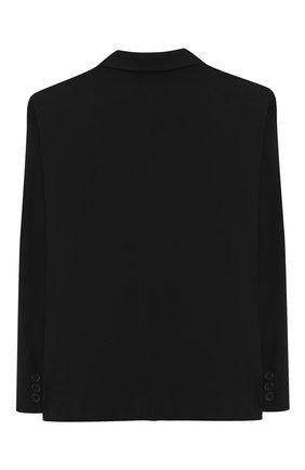Детский пиджак ALETTA черного цвета, арт. AMC000637N/4A-8A | Фото 2