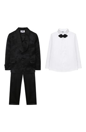 Детский костюм с рубашкой ALETTA черного цвета, арт. N628-29-22-31/4A-8A | Фото 1