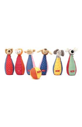 Детского игрушка мягконабивная кегли SIGIKID разноцветного цвета, арт. 49520 | Фото 1