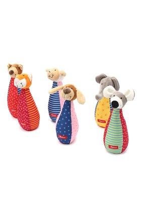 Детского игрушка мягконабивная кегли SIGIKID разноцветного цвета, арт. 49520   Фото 2