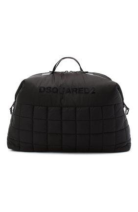 Мужская спортивная сумка DSQUARED2 черного цвета, арт. DFM0021 11702383 | Фото 1