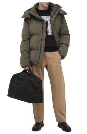 Мужская спортивная сумка DSQUARED2 черного цвета, арт. DFM0021 11702383 | Фото 2