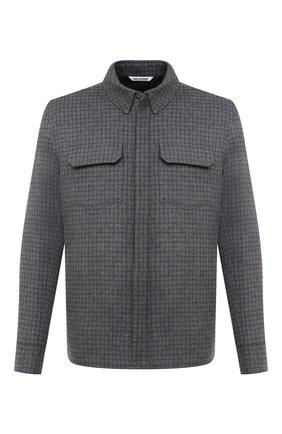 Мужская кашемировая куртка-рубашка ANDREA CAMPAGNA светло-серого цвета, арт. 94900H90V5202 | Фото 1