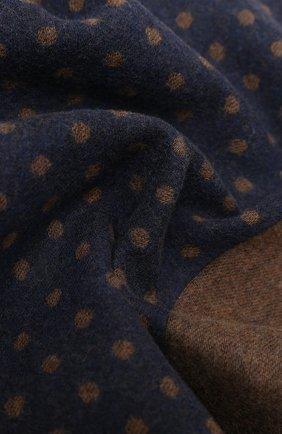 Мужской шарф из шерсти и шелка KITON коричневого цвета, арт. USCIACX03T38 | Фото 2