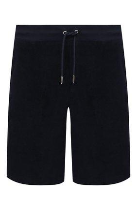 Мужские хлопковые шорты RALPH LAUREN темно-синего цвета, арт. 790786107 | Фото 1