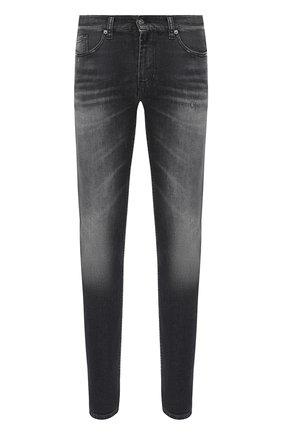 Мужские джинсы 7 FOR ALL MANKIND темно-серого цвета, арт. JSD4A210MB | Фото 1