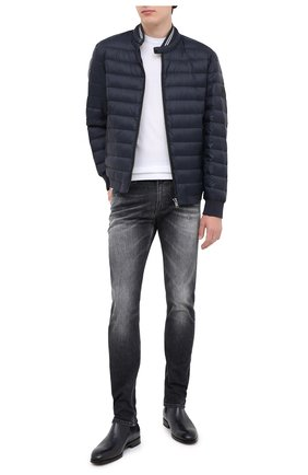 Мужские джинсы 7 FOR ALL MANKIND темно-серого цвета, арт. JSD4A210MB | Фото 2