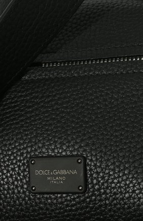 Мужской кожаный рюкзак palermo DOLCE & GABBANA черного цвета, арт. BM1874/AZ319 | Фото 2