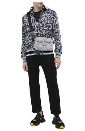 Мужская текстильная сумка palermo tecnico DOLCE & GABBANA серого цвета, арт. BM1842/AW140 | Фото 2