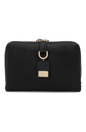 Мужская текстильная сумка soft dna DOLCE & GABBANA черного цвета, арт. BM1811/AW309 | Фото 1
