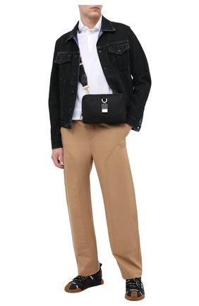 Мужская текстильная сумка soft dna DOLCE & GABBANA черного цвета, арт. BM1811/AW309 | Фото 2