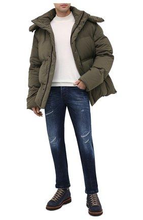 Мужские джинсы KITON темно-синего цвета, арт. UPNJS/J02T68 | Фото 2
