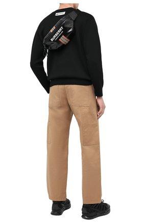 Мужская поясная сумка md sonny BURBERRY черного цвета, арт. 8030018 | Фото 2