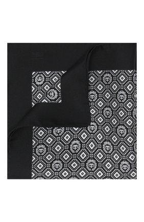 Мужской шелковый платок DOLCE & GABBANA черно-белого цвета, арт. GR412E/G0W0C | Фото 1