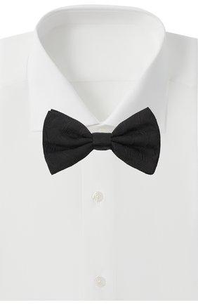 Мужской шелковый галстук-бабочка DOLCE & GABBANA черного цвета, арт. GR053E/G0JNZ | Фото 2