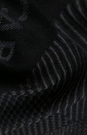 Мужской шерстяной шарф DOLCE & GABBANA серого цвета, арт. GQ270E/G2QAC | Фото 2