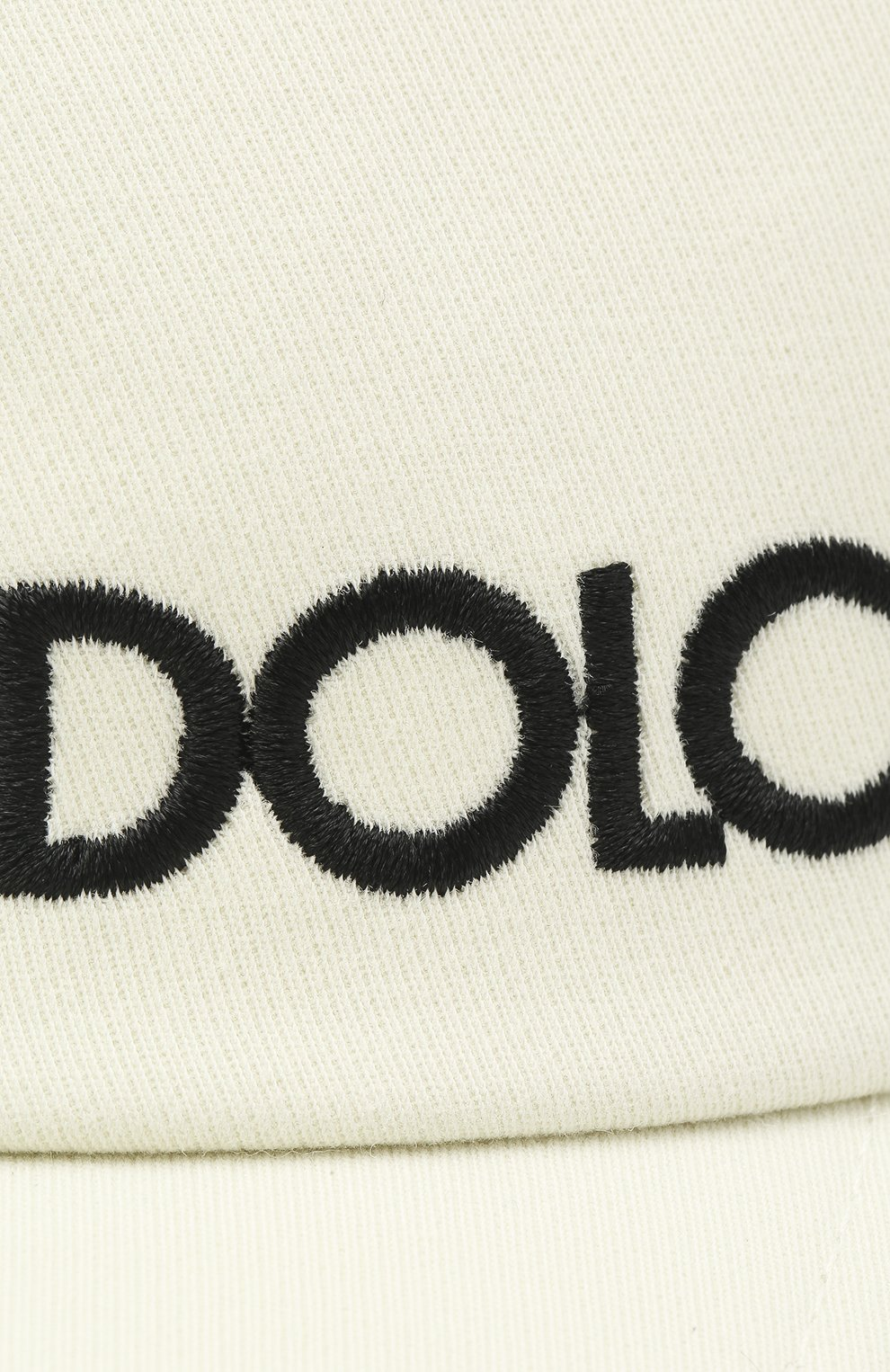 Мужской хлопковая бейсболка DOLCE & GABBANA белого цвета, арт. GH590Z/FU6WU | Фото 3