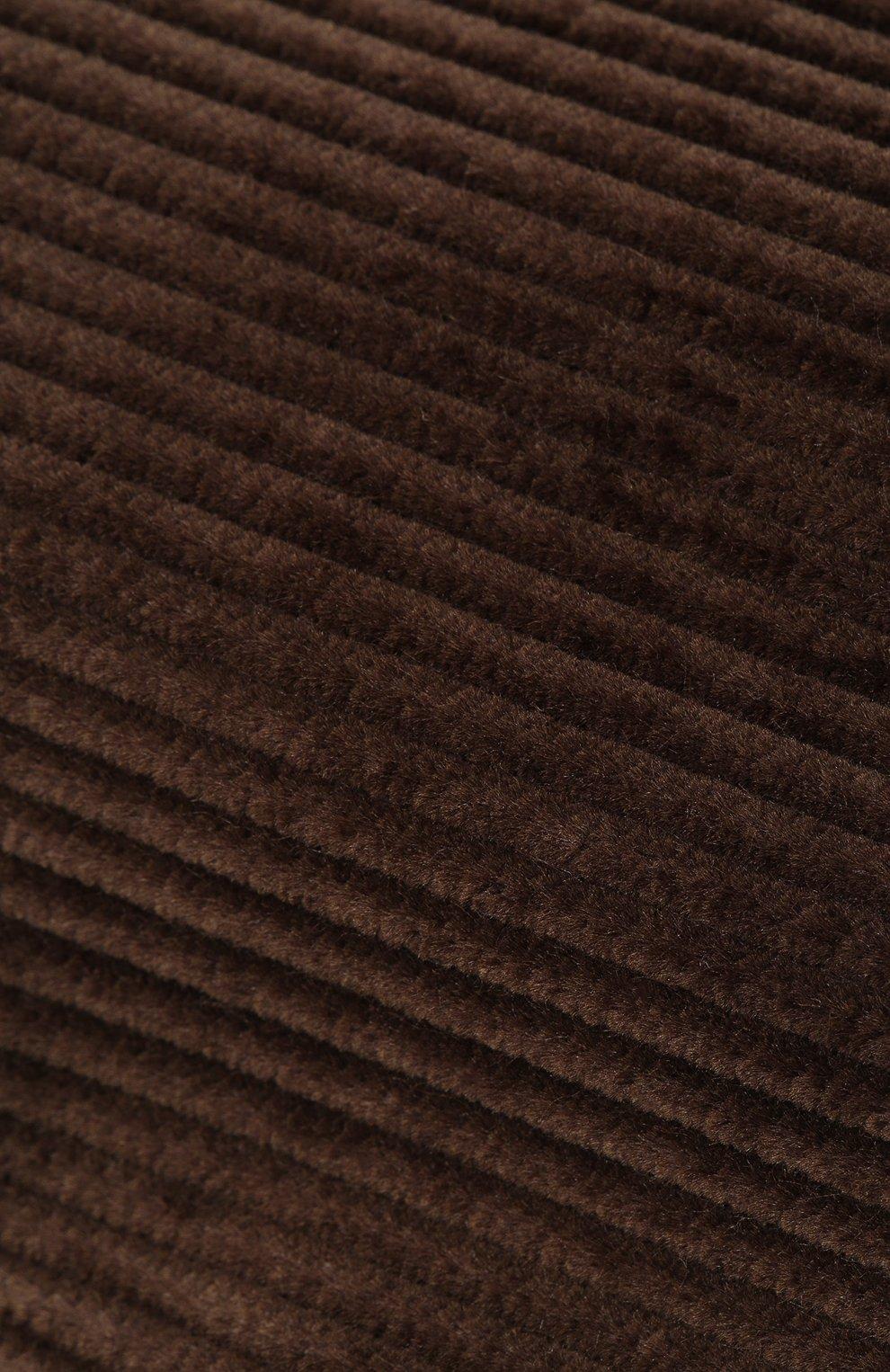 Мужская хлопковое кепи DOLCE & GABBANA коричневого цвета, арт. GH587A/FUVC7 | Фото 3