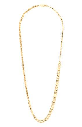 Женское колье BOTTEGA VENETA золотого цвета, арт. 574768/VAHU0 | Фото 1