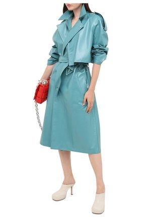 Женские кожаные мюли bv bold BOTTEGA VENETA кремвого цвета, арт. 630148/VBP40 | Фото 2